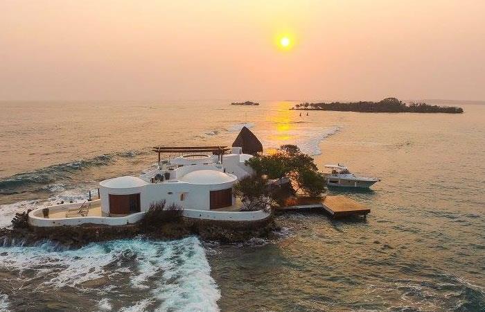 Hoteles de lujo. Foto: Facebook/Isla Pelícano.