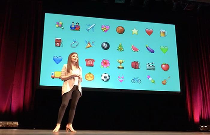 ¿Sabías que una colombiana fue quien creó los emojis de Apple?