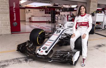 Tatiana Calderón tiene sus ojos puestos en la Fórmula 1
