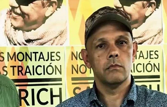 'El Paisa' era comandante de la columna Teófilo Forero de las FARC. Foto: Twitter