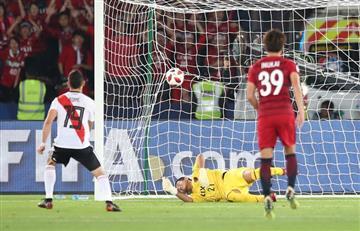 Santos Borré, genio y figura de River Plate en el Mundial de Clubes