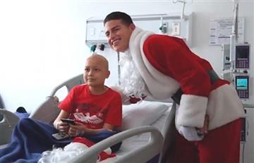 James, el 'Papá Noel' que alegró la Navidad de algunos niños con cáncer