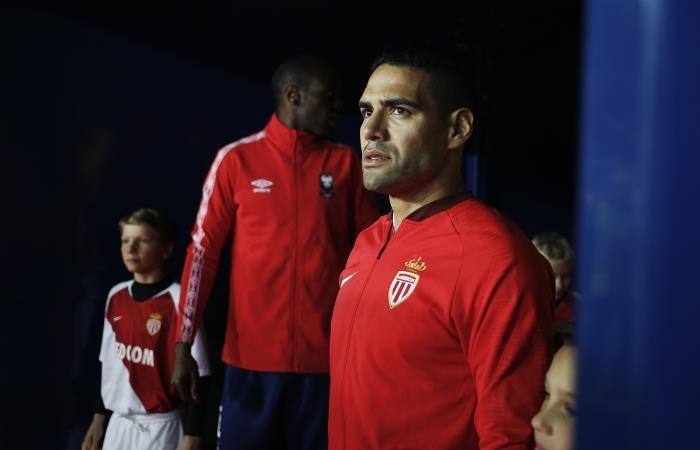 Falcao mostró su preocupación por la situación del club. Foto: AFP