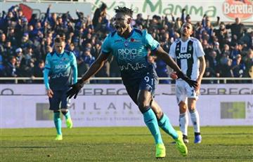 [VIDEO] ¡Doblete! Dos goles de Duván Zapata salvaron a Atalanta ante Juventus