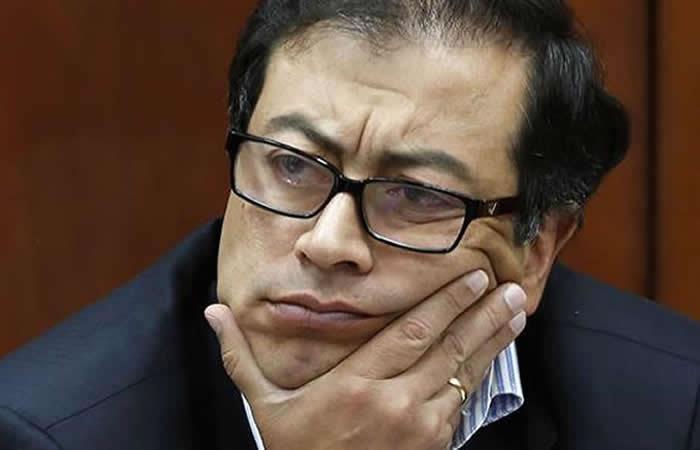 El senador Petro recibió dineros de Montes. Foto: AFP