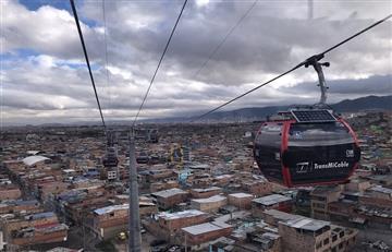 ¡Felicitaciones, Bogotá! La capital estrena su primer cable aéreo