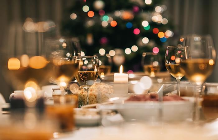 Errores que cometemos en la cena de fin de año. Foto: Shutterstock