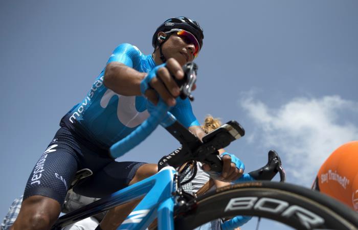 Nairo Quintana será una de las estrellas en el Tour Colombia 2.1. Foto: AFP