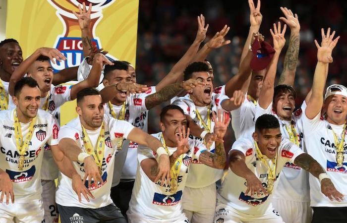 Junior se consagró campeón de la Liga Águila ll. Foto: AFP