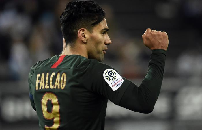 Falcao García, jugador de Mónaco. Foto: AFP