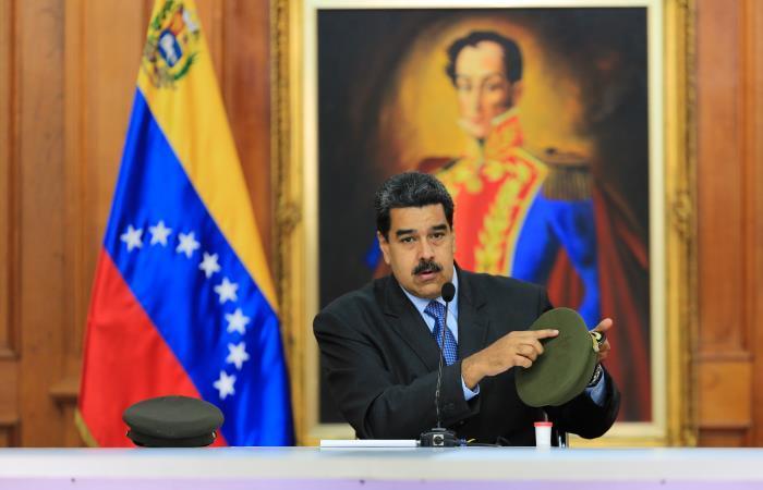 Nicolás Maduro cree que Colombia y Estados Unidos planean un atentado contra él. Foto: Twitter