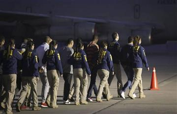 ¡Qué belleza! 21 colombianos, delincuentes en Chile, fueron expulsados de ese país