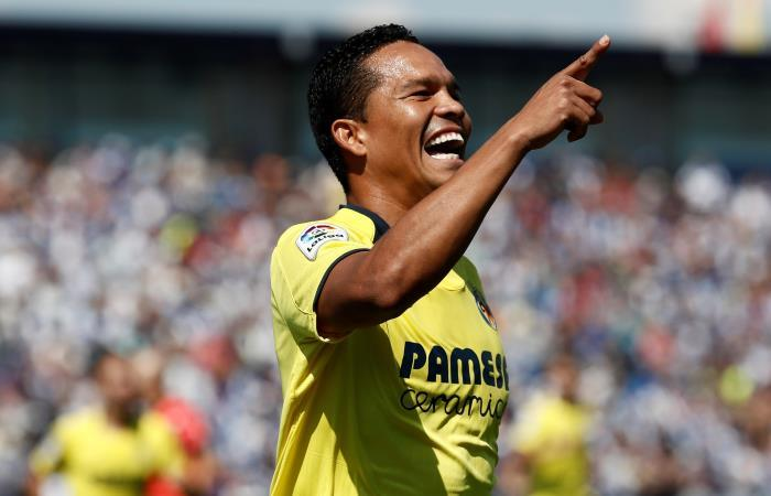 Villareal de Carlos Bacca empató con Real Madrid [VIDEO]