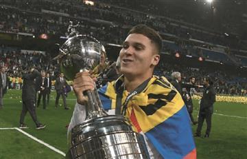 'Juanfer' plasmó la Libertadores en su piel