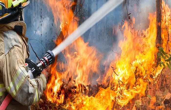 Alerta por incendios forestales en los cerros orientales de Bogotá