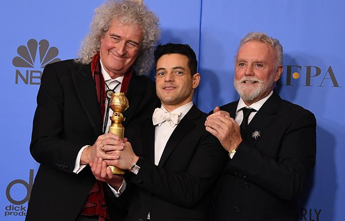 'Bohemian Rhapsody' triunfa en los Golden Globes 2019