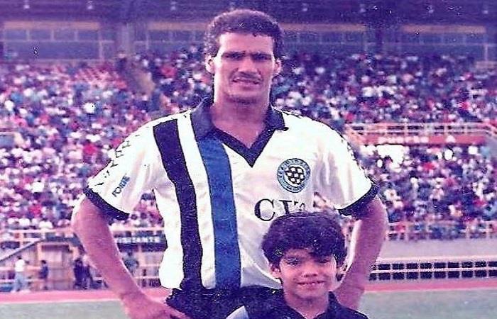 Falcao agradeció a su padre, Radamel García, por medio de su cuenta en Instagram