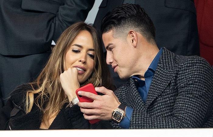 ¿James Rodríguez le declaró su amor a Shannon de Lima en su cumpleaños?