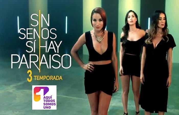 Canal 1 se apoderó del rating con 'Sin Senos Sí hay Paraíso 3'