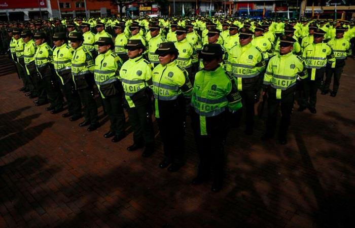 ¿Cómo ha actuado la Policía colombiana en el caso?. Foto: Twitter