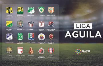 Dimayor dio a conocer el calendario de la Liga Águila 2019-l