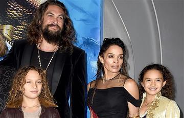 ¿Un montaje? Difunden video de protagonista de 'Aquaman' donde 'toca inapropiadamente' a su hija