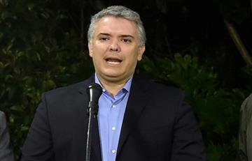 """Presidente Duque cree que Iván Márquez solo quiere """"fracturar"""" el proceso de paz"""