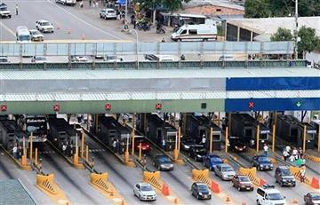 ¡Atención! Comienzan a regir las nuevas tarifas en los peajes