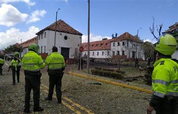 Atención: Carro bomba en Escuela General Santander deja al menos nueve muertos