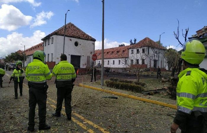 Atención: explosión en Escuela General Santander causa terror en Bogotá