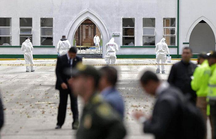 El atentado terrorista dejó más de 50 heridos. Foto: Twitter