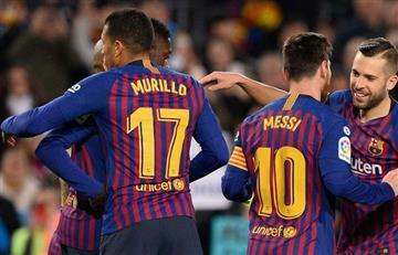 Partidazo de Jeison Murillo con Barcelona en Copa del Rey