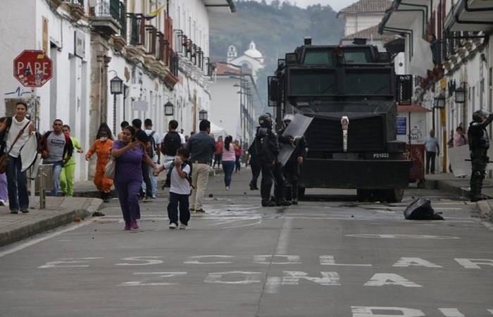 Estudiantes marcharán en contra del ESMAD