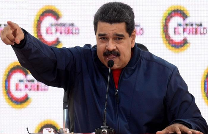 ¿Un estado independiente para Maduro? Foto: AFP