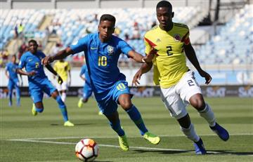Sudamericano Sub 20: Selección Colombia firma empate ante Brasil