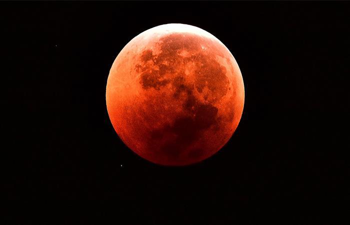 Colombia podrá apreciar el eclipse total de luna