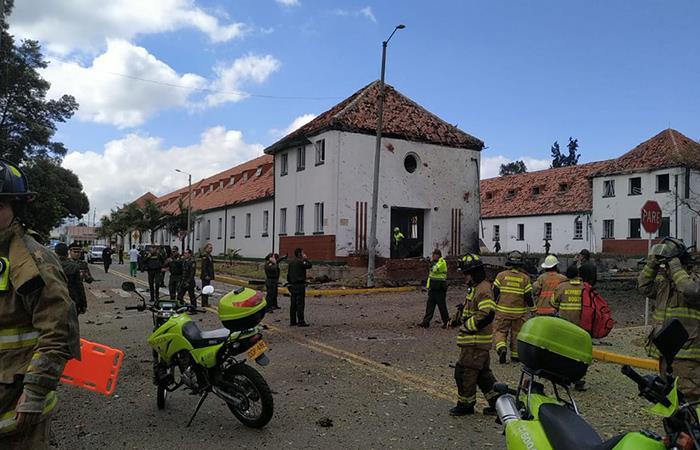 El paso a paso del atentado en la Escuela General Santander