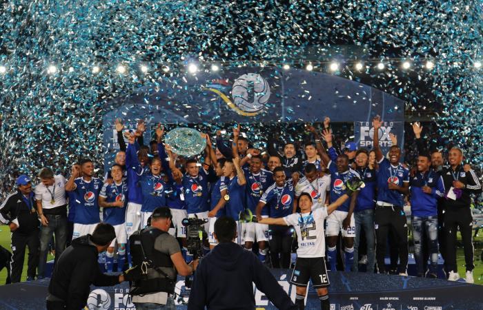 Millonarios, campeón del Torneo Fox 2018