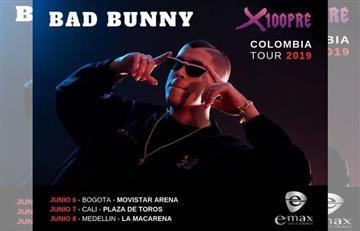 Bad Bunny visitará Colombia con su gira 'X100PRE WORLD TOUR'