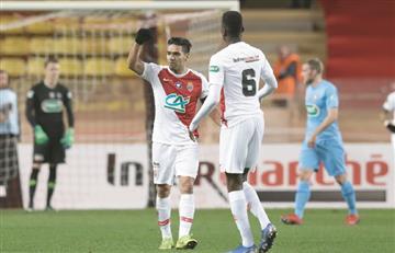 Falcao volvió a marcar y Mónaco volvió a perder