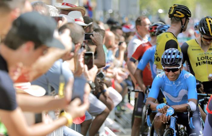 Nairo Quintana busca un nuevo título en el Tour Argentina. Foto: EFE.