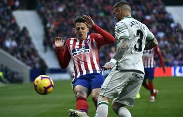 Santiago Arias la sigue rompiendo con Atlético de Madrid