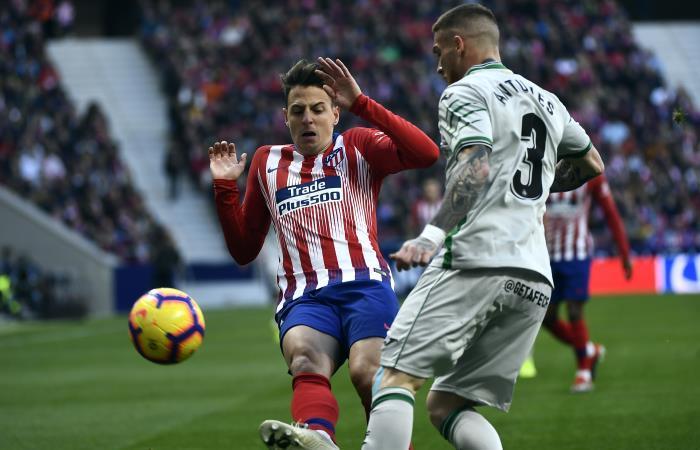 LaLiga: Con Santiago Arias, Atlético de Madrid derrota a Getafe