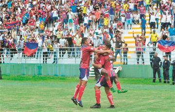 Lluvia de goles en el primer partido de Unión Magdalena en la Liga Águila