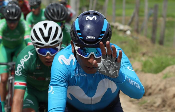 Nairo Quintana busca brillar en la Vuelta a San Juan. Foto: EFE