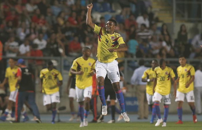 Sudamericano Sub 20: La Selección Colombia venció a Chile y logró la clasificación