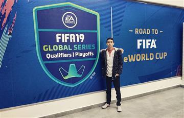 Sebastián Ortiz, el embajador colombiano en el FIFA 19