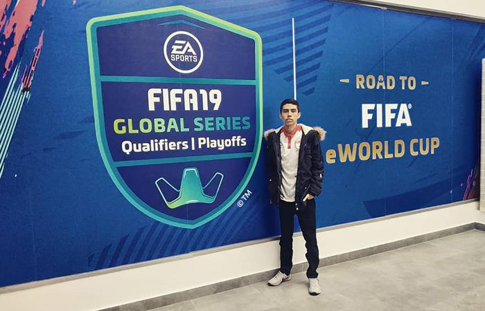 Sebastián ha representado a Colombia en diversos torneos internacionales. Foto: Instagram