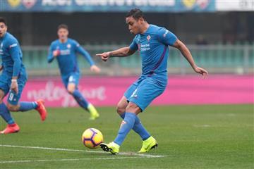Tercer gol en 2 partidos para Luis Muriel con Fiorentina