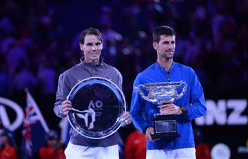 Reacciones de Nadal y el campeón Djokovic tras veloz final en Australia